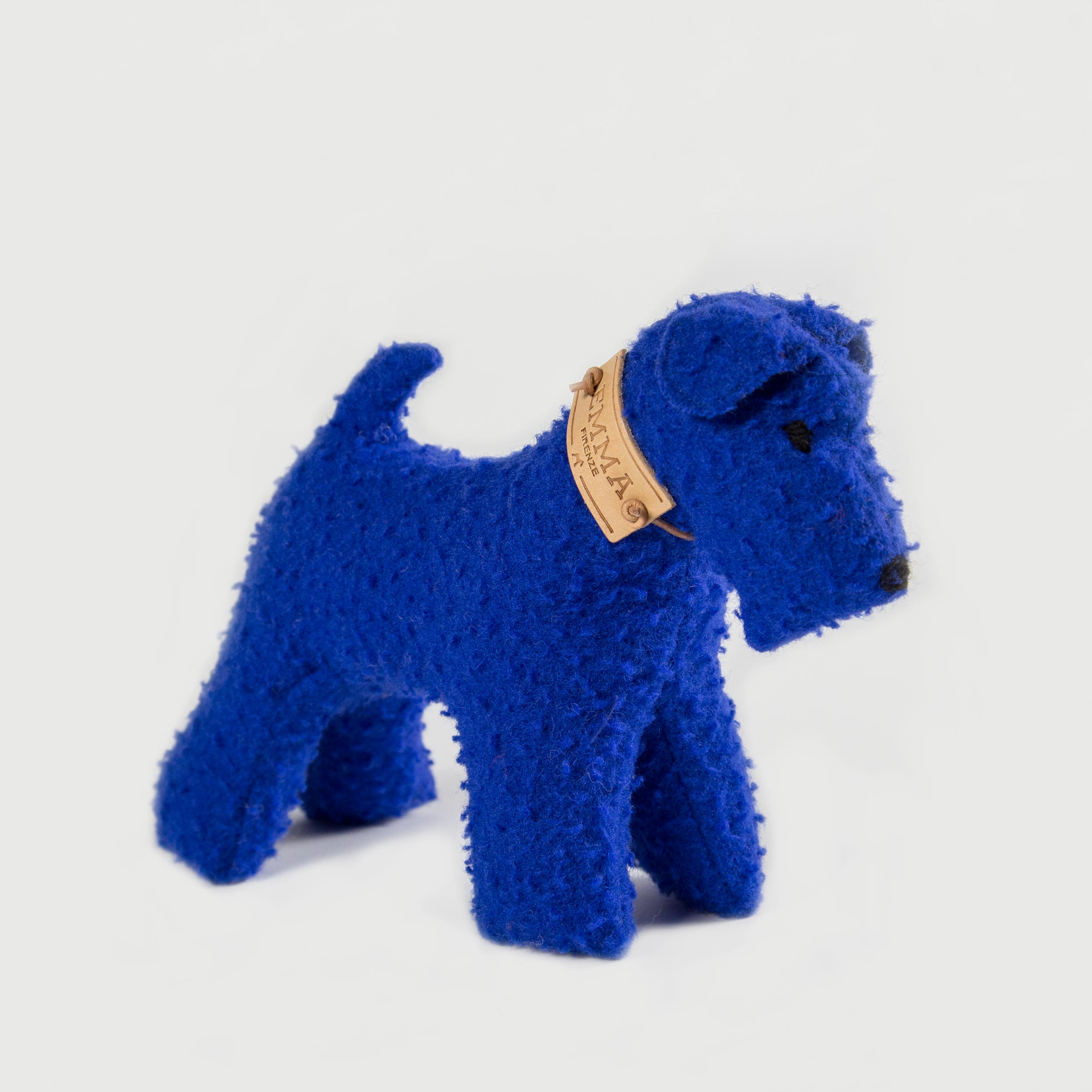 gift toy in blue casentino fabric