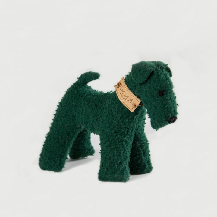 gioco regalo in tessuto Casentino verde