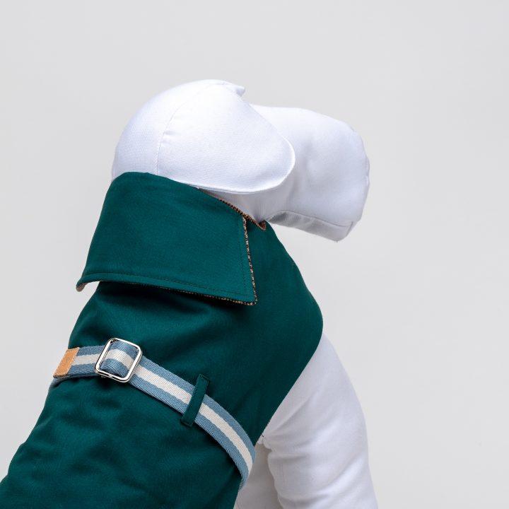 Luxury dog coats, waterprood dog coat, detail