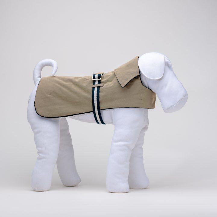 cappottino impermeabile per cani Teal & Sand rain