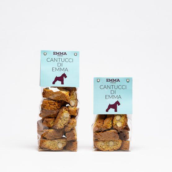 cantucci toscani per cani, biscotti per cani a forma di cantucci toscani due confezioni