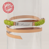 pear bar-tag limited edition, collare bracciale verde