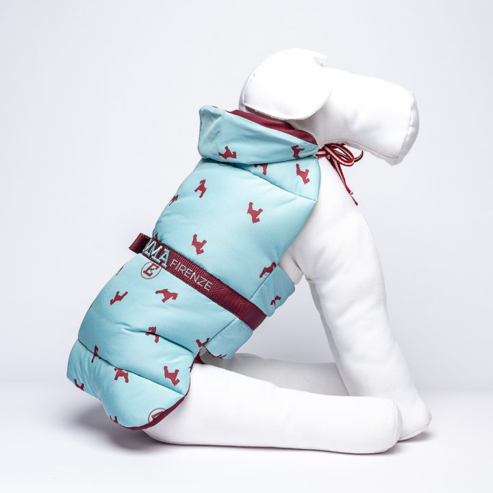 made-to-measure eco-friendly down jacket for dogs